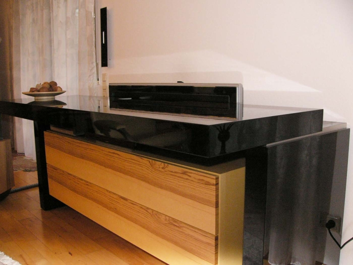 sideboard tv versenkbar m bel archive tv lift projekt. Black Bedroom Furniture Sets. Home Design Ideas