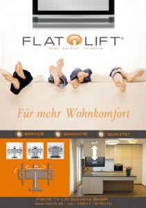 tv lift projekt blog seite 6 von 12 von flatlift tv lift systeme gmbh. Black Bedroom Furniture Sets. Home Design Ideas