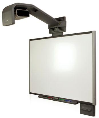 Mit Flatlift Lift Systemen können Sie Ihr Smartboard höhenverstellbar an der Wand oder im Klassenzimmer anbringen